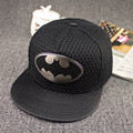 Hot! 2015 Moda Verão Marca Batman Chapéu Boné de Beisebol Para Mulheres Dos Homens Casual Hip Hop Osso Snapback Caps Chapéus