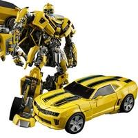 Transformation Bumblebee M03 MP2 Battle Blades Alloy Action Figure Movie 5 Hero origin Robot Car War Hornet Collection Gift Toys