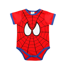 Baby Romper Girl and Boy Short Sleeve Superman short-sleeved vest Romper Summer Clothing Set for Newborn Jumpsuits & Rompers