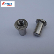цена 500pcs BS-M6-1/BS-M6-2 Self-clinching Blind Fasteners Stainless Steel Blind Nuts PEM Standard In Stock Factory Wholesales онлайн в 2017 году
