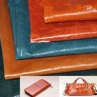 Import szef warstwy skóry wołowej wosk z oliwek skóra skóra tkanina kolor duża instrukcja DIY Zauważyć swoje potrzeby kolor w kolejności