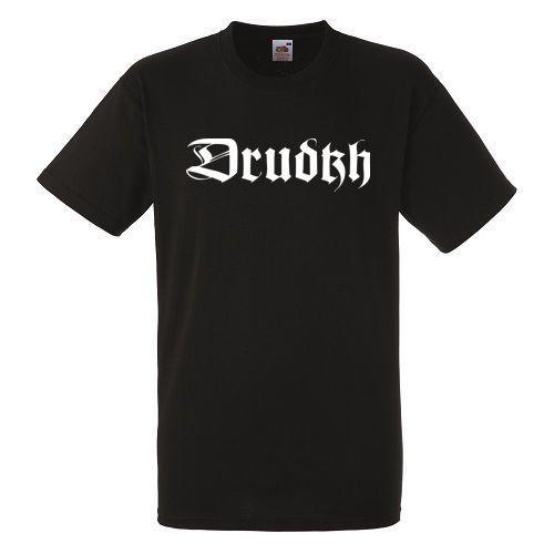 Drudkh Logo Mens Black Rock T-shirt NEW Sizes S-XXXL