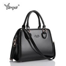 vintage luxury briefcase tote hotsale women designer shoulder office bags valentine clutch casual high quality leather handbags(China)