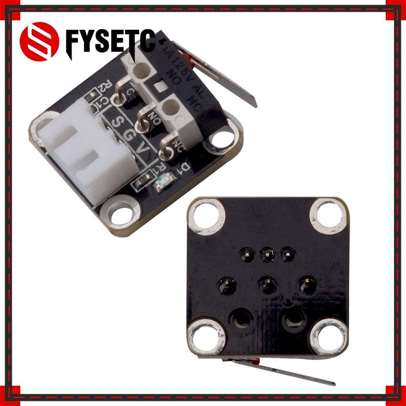 2pcs Endstop Limit Switch Plug Control CNC For RAMPS 1.4 3D Printer Kits CR-10 CR-10S CR-S4 CR-S Tevo Tarantula Tornado