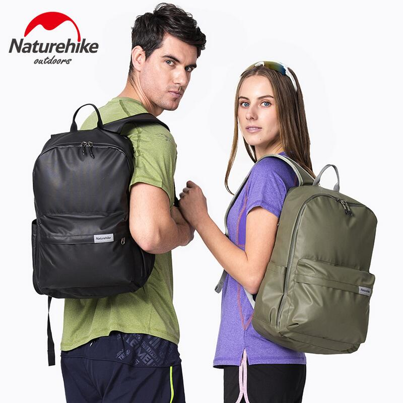 Naturehike Outdoor backpack waterproof sports bag hiking Travel backpack computer bag men women camping backpack 23L NH17A002-B