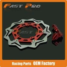 Cheap price CNC 270MM Front Floating Brake Disc & Caliper Bracket Adapter for CRF CR125 CR250 CRF250R CRF250X CRF450X CRF450R CRF250 CRF450