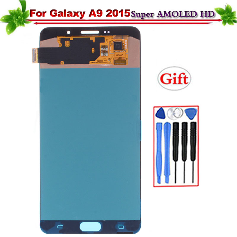 6 for Samsung Galaxy A9 2015 A900 A9000 SM-A900F LCD Display Touch Screen Digitizer Assembly Replacement Super Amoled6 for Samsung Galaxy A9 2015 A900 A9000 SM-A900F LCD Display Touch Screen Digitizer Assembly Replacement Super Amoled