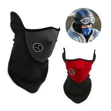 Half-Face-Mask-Cover Skiing-Bibs Snowboard Winter Warm Scarf Balaclavas Neck-Guard Hood-Protection
