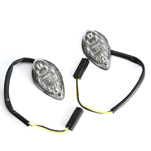 free shipping Pair Flush Mount LED Motorcycle Turn Signals For Honda CBR 600 F3/F4/F4i 600RR 1000RR CB919