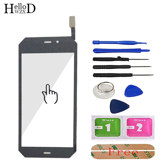 4.7 Mobile Phone Touch Screen For Cat S50 Touch Screen Glass Digitizer Panel Front Glass Sensor TouchScreen Tools Adhesive