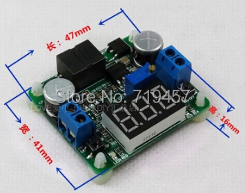 FREE SHIPPING  DC-DC Automatic Lifting Pressure Module 24/12V To 5V Voltage Regulator Power Supply Board2A Solar Panels