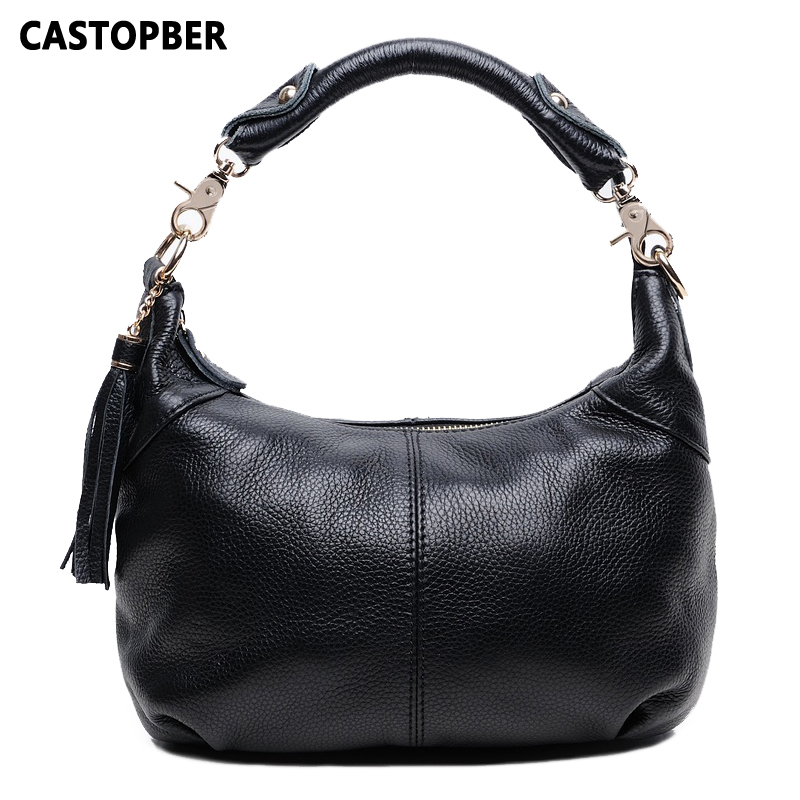Designer Tassel Tote Bag Women Shoulder Messenger Crossbody Genuine Leather Cowhide Female Shoulder Bag High Quality Ladies new brand genuine leather women bag fashion retro stitching serpentine quality women shoulder messenger cowhide tassel small bag