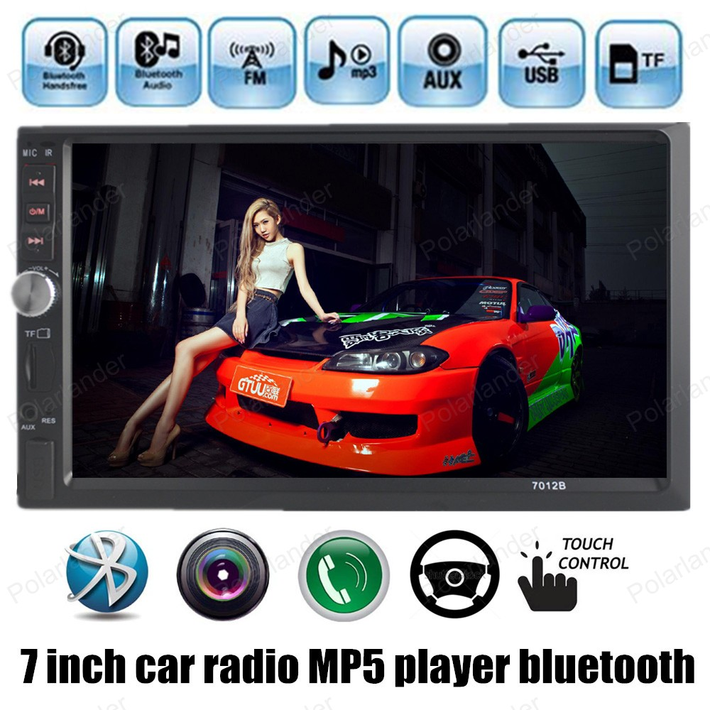 7 inch 2 DIN HD Touch Screen Universal In Dash Car Radio Stereo Head Unit MP5 MP4 MP3 bluetooth Video Auto Stereo in dash TF/USB 7 inch double 2 din car stereo mp5 mp3