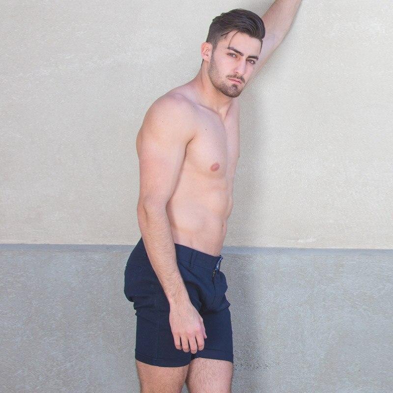 Taddlee Märke Mode Herr Shorts Casual Knä Längd Korta Bottoms - Herrkläder - Foto 2