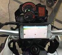 Мобильный телефон навигации кронштейн USB зарядки телефона для BMW F700GS F800GS/ADV 2013 2017