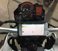 mobile phone Navigation bracket USB phone charging for BMW F700GS F800GS/ADV 2013 2017