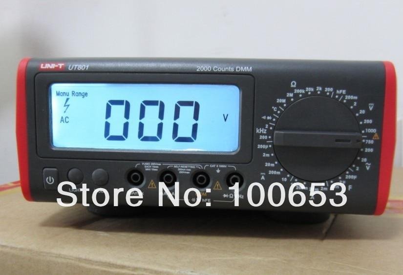 UNI-T UT801 UT-801 Multimeters/dest top Multimeters/ Bench Type Digital Multimeters touch in sol пудровый тинт для губ chroma powder цвет 4 leeloo 2 5 г
