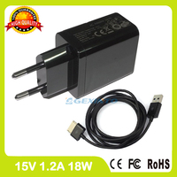 15V 1 2A Tablet Pc Charger For Asus Transformer Pad TF600 TF701 TF701T TF810C Wall Adapter