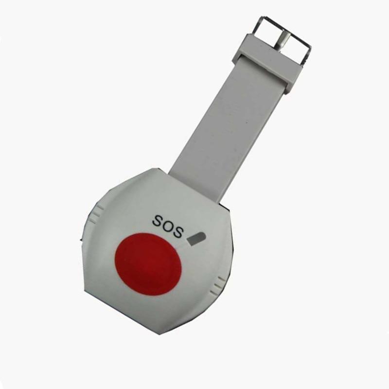 433Mhz Wristband Anti Lost Alarm Wireless SOS Panic Button For Burglar Alarm System цена и фото
