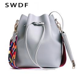 2019 женская сумка через плечо из искусственной кожи, Прямая поставка, дизайнерская женская сумка через плечо, женская сумка с красочным