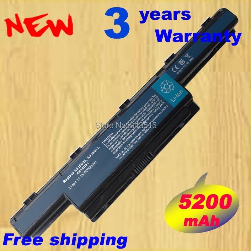 Batterie Pour ACER TravelMate 5742ZG 5744 5744G 5744Z 5760 5760G 6495 6495G 6495 T