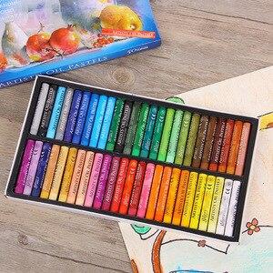 Image 2 - Set de 50 lápices de colores Pastel para niños, Set de lápices de colores Pastel, tiza Pastelli, papelería escolar