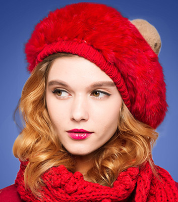 2017 limitado en el Tiempo de Las Mujeres Sólido Adulto Casquillo del vendedor de Periódicos Sombrero Nuevo Conejo Puro Sombrero de La Boina del vendedor de Periódicos Pintora Nifty Moda envío Gratis