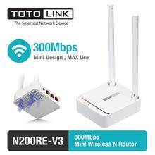 Totolink n200re 300 mbps wifi router/wifi repetidor/punto de acceso (ap) con antena externa, inglés Firmware