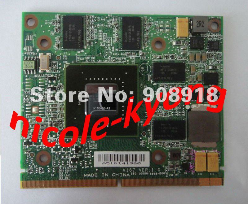 GT 250M DDR3 1GB N10E-GE-A2 VGA Video Card for Aspire 5739G 5935G 5940G 7735G 7738G 8735G 8940G IdeaCentre for B500 B505 A600