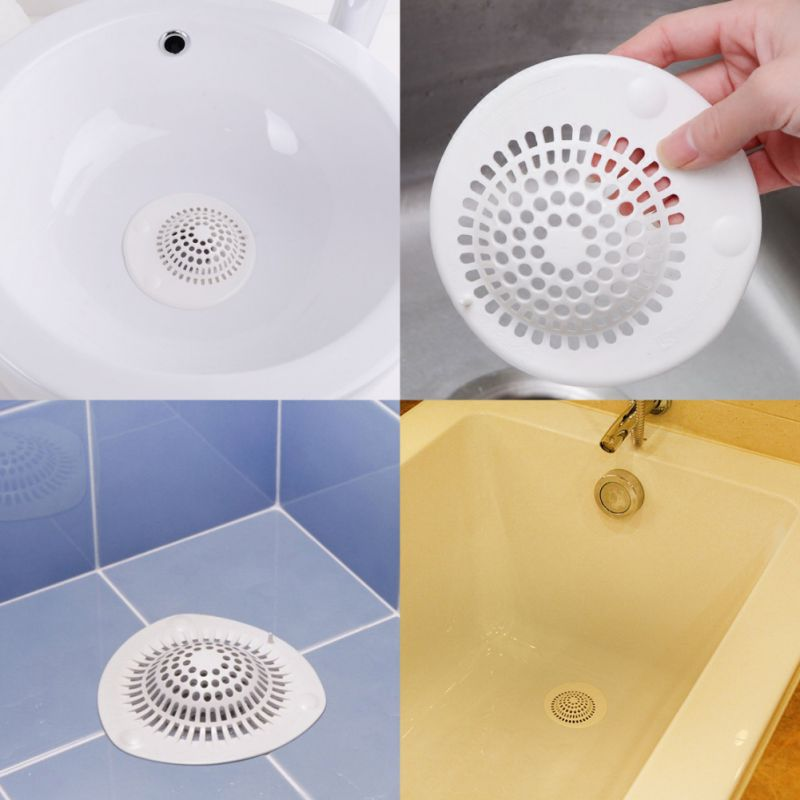 Resin Drain Cover Filter Hair Stopper Catcher Drain Protector Sink Strainer For Bathroom Kitchen Filters