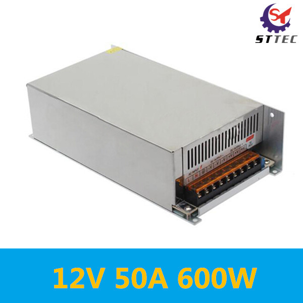 Free shipping 600 w power dc 12 v switching power supply controller 50 a power transformer 12V 50A 600W free shipping rdc19222 600