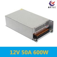 Free shipping 600 w power dc 12 v switching power supply controller 50 a power transformer 12V 50A 600W