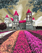 "DIY Painting By Number – Colorful Castle (16""x20"" / 40x50cm)"
