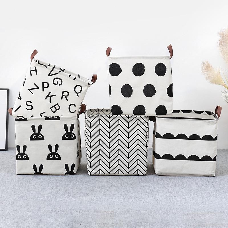 Toys Organizer Underwear Storage-Basket Dirty-Clothes Sundries Foldable Kids New