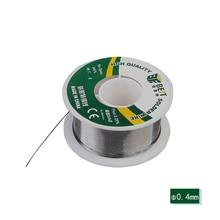 лучшая цена BEST 0.4mm 100g Solder Wire Roll Electronic Repair For Intensive Circuit Board Welding Electrical Appliances Maintenance