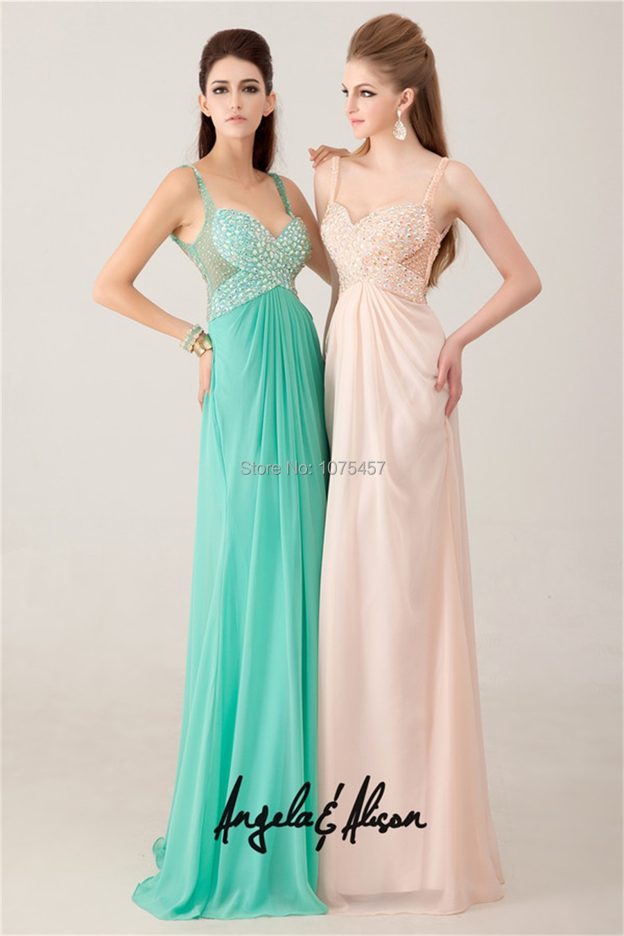 d202e5bfd2 Free Shipping Long Mint Green Prom Dresses Sexy Backless 2015 ...