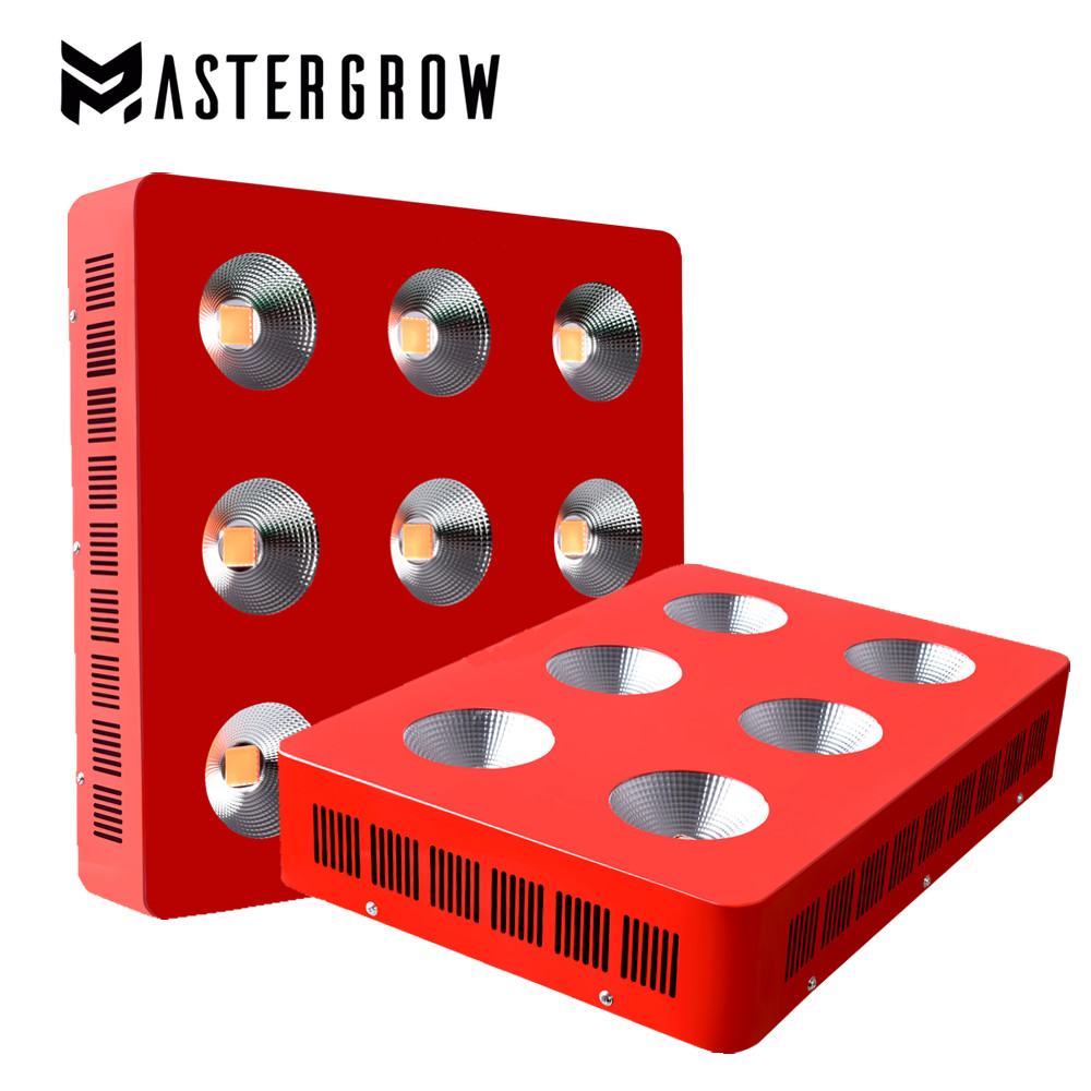 MasterGrow Dominator 300w/600w/1200w/1800w/2700w COB LED Grow Light Full Spectrum 410-730nm For Indoor Plants And Flower