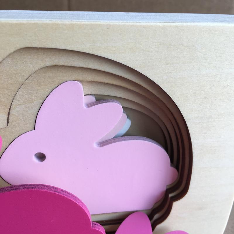 Nuevo Conejo de Animal Conejo / Bird / Whale Puzzle Rompecabezas de - Juegos y rompecabezas - foto 6