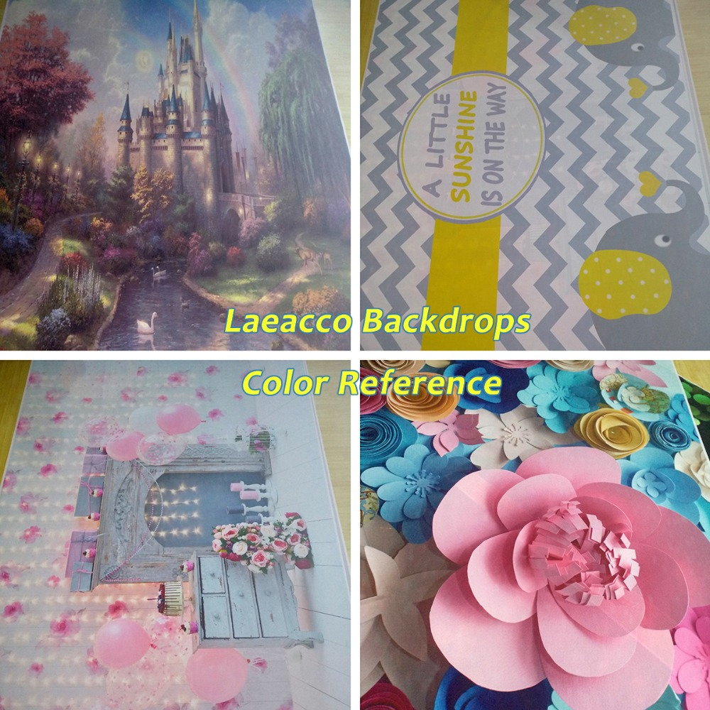 Laeacco Baby 1 Tort de balon cu flori pentru ziua de naștere - Camera și fotografia - Fotografie 5