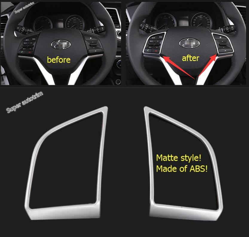 Aliexpress Com Buy Lapetus Accessories Fit For Hyundai: Lapetus Accessories Interior Steering Wheel Switch Bottom