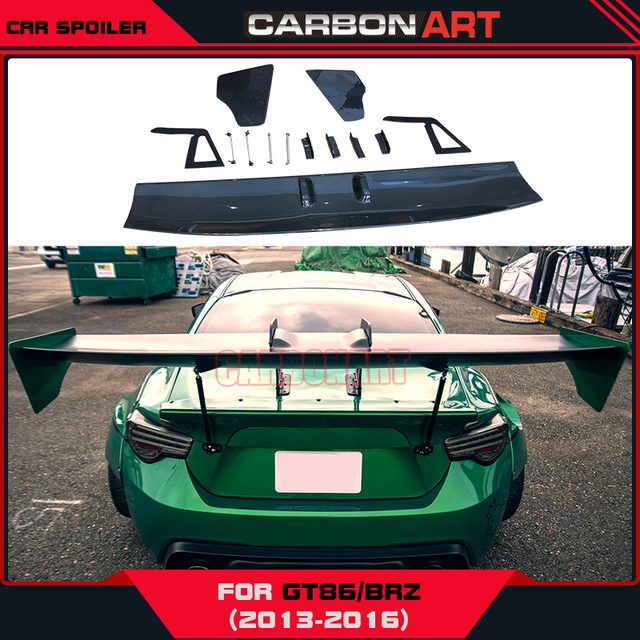 170cm Gt86 Brz Rocket V3 Carbon Fiber Spoiler Wing Gt Rear Trunk