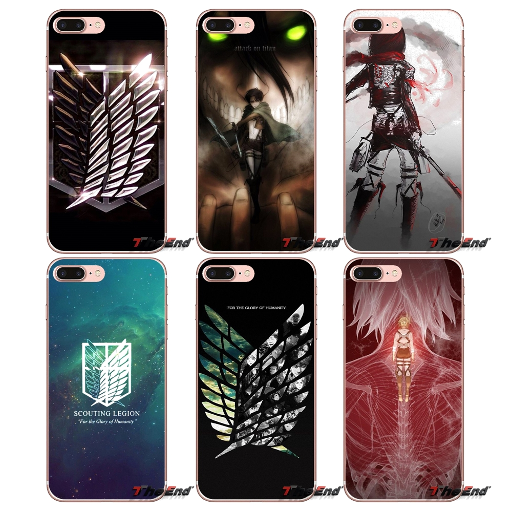 coque samsung galaxy s6 edge attack on titan