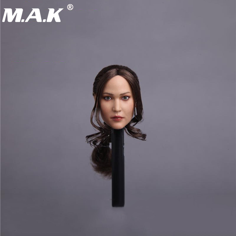 1/6 Scale The Hunger Games Katniss Yves Dean Head Sculpt