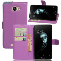 For alcatel Flash Plus 2 Wallet Flip Leather Case For alcatel Flash Plus 2 FL02 Leather back Cover housing case shell+Stand