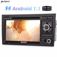 Capacitive Screen 2 Din 7 Android 7 1 Car DVD Player Quad Core GPS Navigation Car