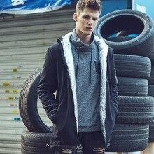 Зима Хлопка-Ватник Европейское И Американское Популярное Мода Долго Капюшоном Хлопка Человека Пальто Мужские Пальто Тренчкот Мужчины