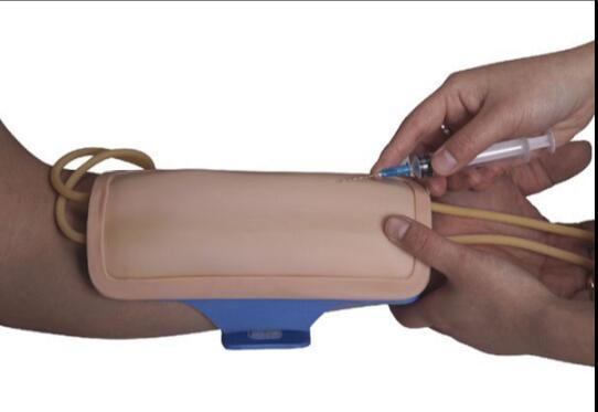 Modelo de chaqueta de venipuntura para antebrazo (solo), entrenamiento y práctica del modelo de inyección de brazo y punción de extracción de sangre