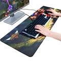 2017 Nuevo 90*40 CM Grande Gaming Mouse Pad De Goma Borde de Bloqueo de Computadora mousepad Alfombrillas de ratones Para Dota 2 LOL CS ir Para El Juego jugador