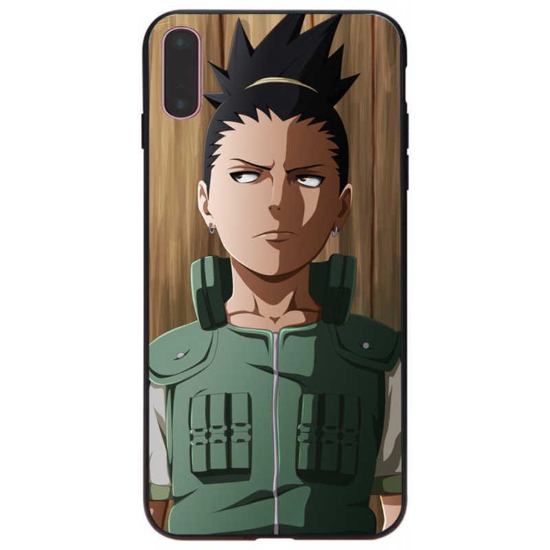 MaiYaCa 2018 nowy Nara Shikamaru Top szczegółowe popularne tanie hurtownia czarny dla iPhone X 6 6 S 7 7 plus 8 8 Plus 5 5S