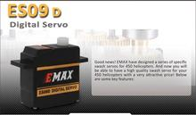 Free Shipping EMAX(6Packs/Lot) ES09D Digital Servo Special Swash RC Servo For 450 Helicopter /Hobby Plane